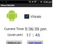 Silent Mobile with Timer 1.0.0 Screenshot