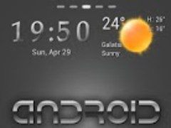 Silvergon Go Launcher Theme 1.0 Screenshot