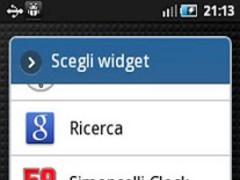 Simoncelli Clock Widget 1.0 Screenshot