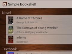 Simple Bookshelf 1.5.0 Screenshot