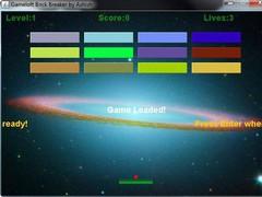 Simple Brick Breaker  Screenshot