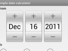 Simple Date Calculator 1 1 Free Download