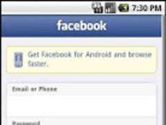 Simple Facebook 1.0 Screenshot