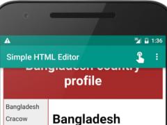 Simple HTML Editor PRO 1.007 Screenshot
