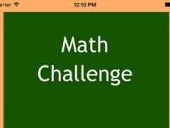 Simple Math Challenge 1.01 Screenshot
