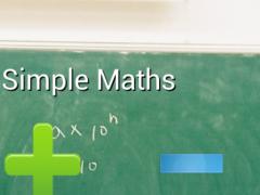 Simple Maths 1.04 Screenshot