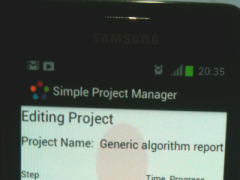 Simple Project Manager 2.0 Screenshot