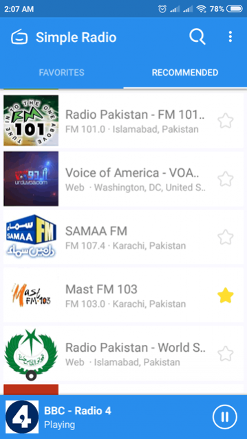 Simple Radio - Free Live FM AM Radio 10 Free Download