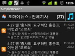 Simple Reader (Feed/Podcast) 1.101 Screenshot