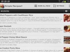 Simple Recipes!! 1.0 Screenshot