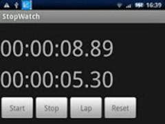 Simple Stop Watch! 1.0 Screenshot