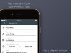 Simple Time Tracker 2.0 Screenshot