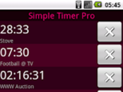 Simple Timer Pro 1.0 Screenshot