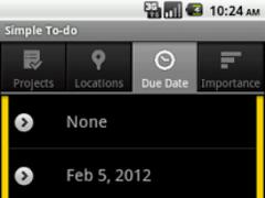 Simple ToDo 1.0 Screenshot