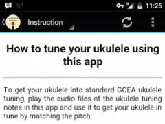 Simple Ukulele Tuner 2.0 Screenshot