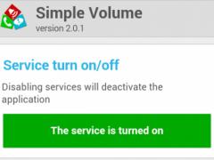 Simple Volume 2.0.1.1 Screenshot
