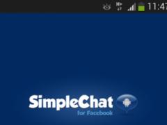 SimpleChat for Facebook (ads)  Screenshot