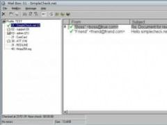 SimpleCheck E-Mail Notification Client 8.0.2 Screenshot