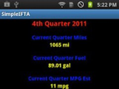 SimpleIFTA Trucking IFTA Log 1.2.1 Screenshot