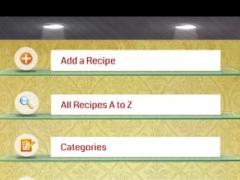 Simplified Recipe Organizer 1.0 Screenshot