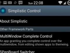 Simplistic Control 3.6 Screenshot