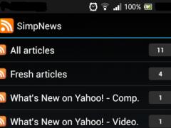 SimpNews 1.8.7 Screenshot