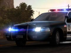 Simulation police car racing 1.0 Screenshot
