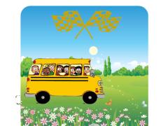 Simulator child bus Hill Climb 1.0 Screenshot