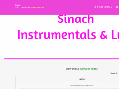 Sinach Lyrics 1 7 0 Free Download