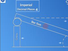 Sine Bar Calculator  Screenshot