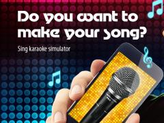 Sing karaoke simulator 1.0 Screenshot
