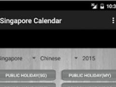 Singapore Calendar 2016 2.0 Screenshot