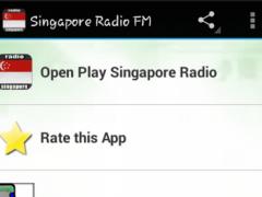 Singapore Radio FM 1.0 Screenshot