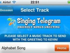 Singing Telegram 1.1 Screenshot