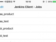 Sinri Jenkins Client 1.0 Screenshot