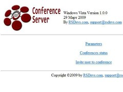 SIP H.323 IAX Audio Conference Server (MCU) 1.0 Screenshot