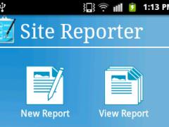 Site Reporter 1.2 Screenshot