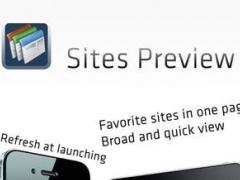 Sites Preview 1.0.1 Screenshot