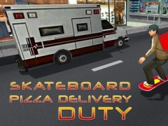 Skateboard Pizza Delivery – Speed board riding & pizza boy simulator game 1.0 Screenshot