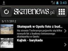 Skatenews.pl – Skateboard news 1.1 Screenshot