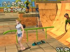 Skater 3D Rampage Simulator 1.0 Screenshot
