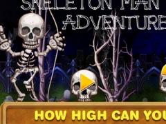 Skeleton Man Swing Adventure : Fly Away Skull and Bones FREE 1.0 Screenshot