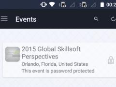 Skillsoft Events 4.18 Screenshot