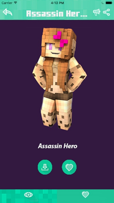 SKINS For Minecraft PE PC Herobrine Free Download - Skins para minecraft pe herobrine
