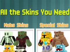 Skins for Minecraft Pocket Ed. 4.8 Screenshot