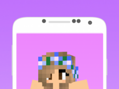 Skins girls for minecraft pe 1.0 Screenshot