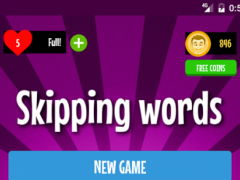 Skipping Words 2.2.0 Screenshot
