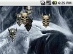 Skull Smoke Live Wallpaper 2.0 Screenshot