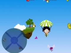 Sky Diving Ninja 2.1 Screenshot