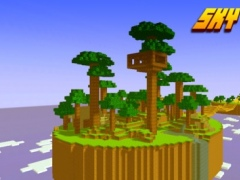 Sky Hunting - Mini Survival Game With Block Multiplayer 1.0.3 Screenshot
